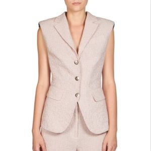 SONIA RYKIEL Pink Sleeveless Jacket/Vest sz 44